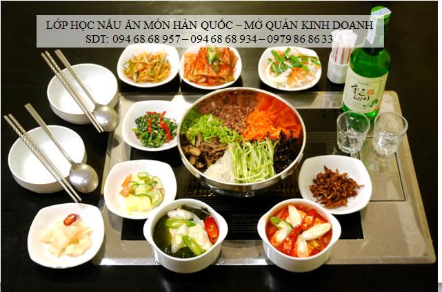 lớp học nấu ăn hàn quốc - địa chỉ dạy nấu ăn uy tín được nhiều người theo học nhất - 094 68 68 957 - 0979 86 86 33 - 094 68 68 934