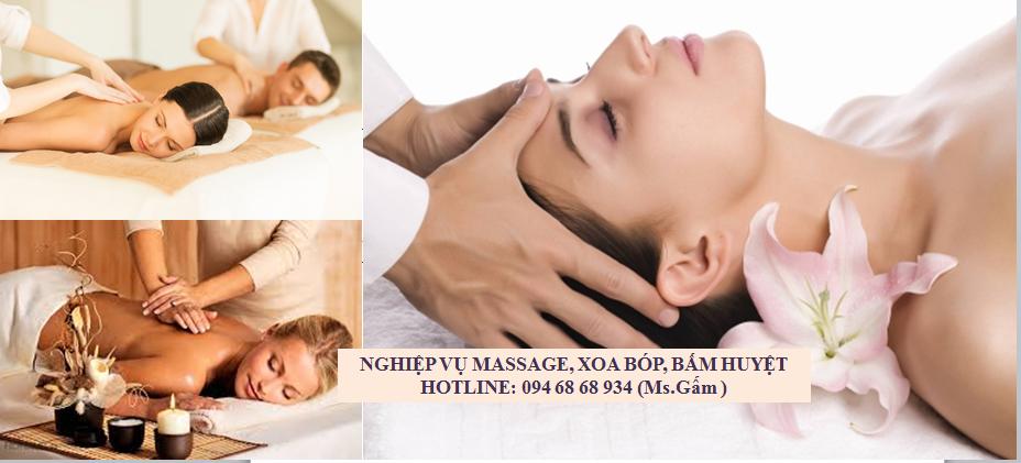 nghiệp vụ xoa bóp bấm huyệt massage