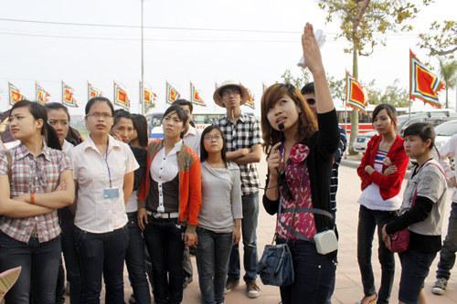 học hướng dẫn viên du lịch - cấp thẻ hướng dẫn viên nội địa quốc tế