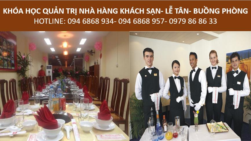 học quản trị nhà hàng khách sạn - đào tạo nhân viên lễ tân