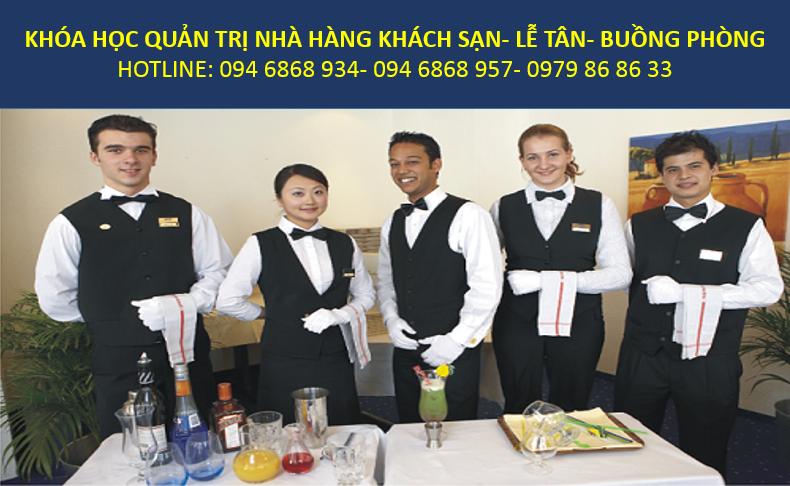 học quản trị nhà hàng khách sạn, nghiệp vụ lễ tân - trung tâm đào tạo nghề chuyên nghiệp