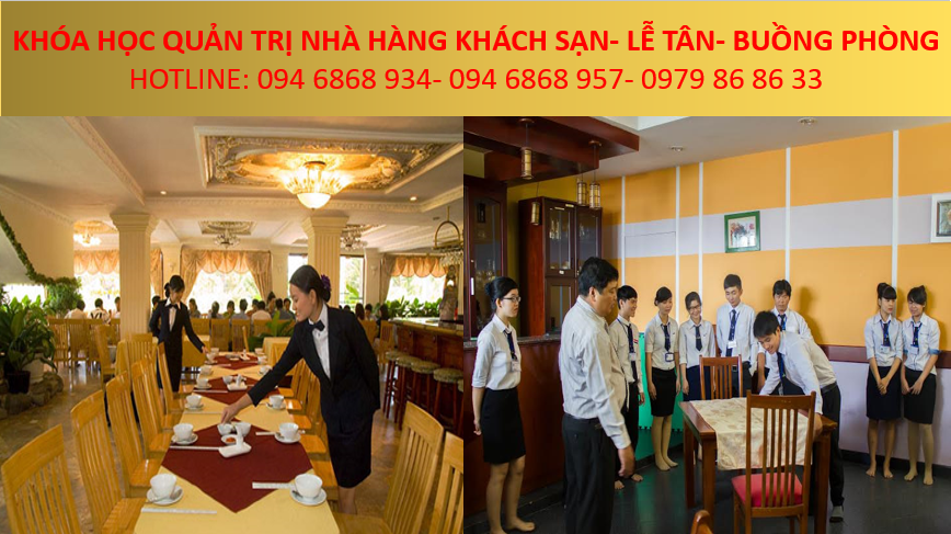 đào tạo quản trị khách sạn nhà hàng - trung tâm đào tạo nghề chuyên nghiệp tại hà nội