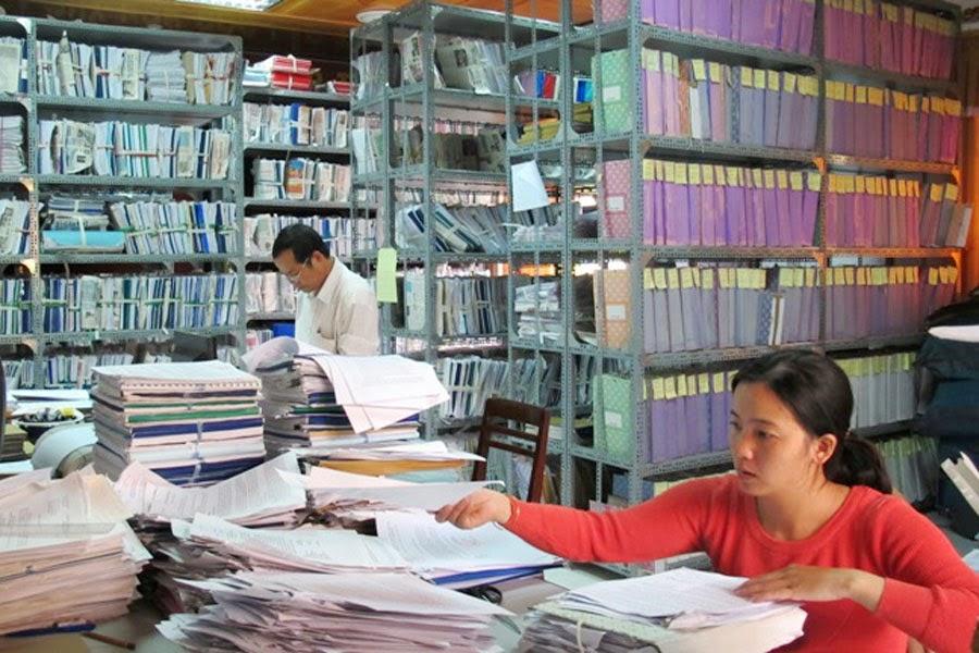 Khóa học Trung Cấp văn thư lưu trữ, hành chính văn phòng