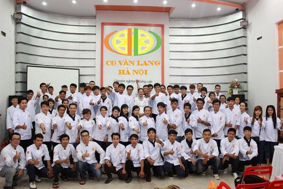 Học Trung Cấp nấu ăn - Trường CĐ Nghề Văn Lang dạy nấu ăn hệ SC - TC - CĐ
