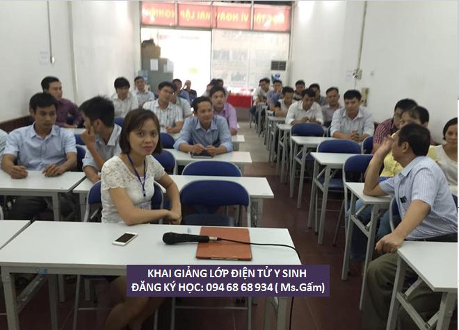 Học chứng chỉ Điện tử y Sinh - Đại học Bách Khóa Hà Nội