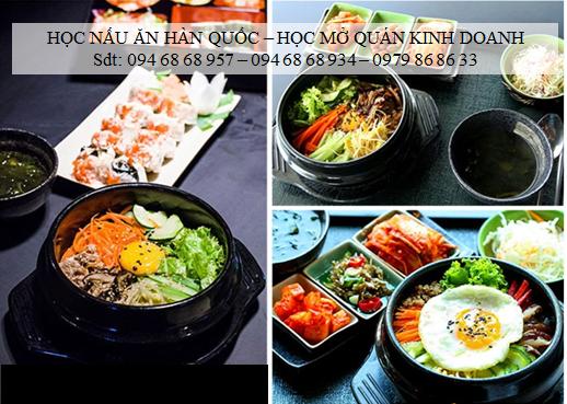 Trung tâm dạy nấu ăn món Hàn Quốc ở Hà Nội | Dạy đầu bếp Hàn , Phụ bếp Hàn