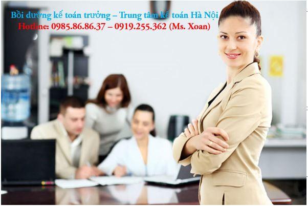 Học kế toán trưởng ở Hà Nội