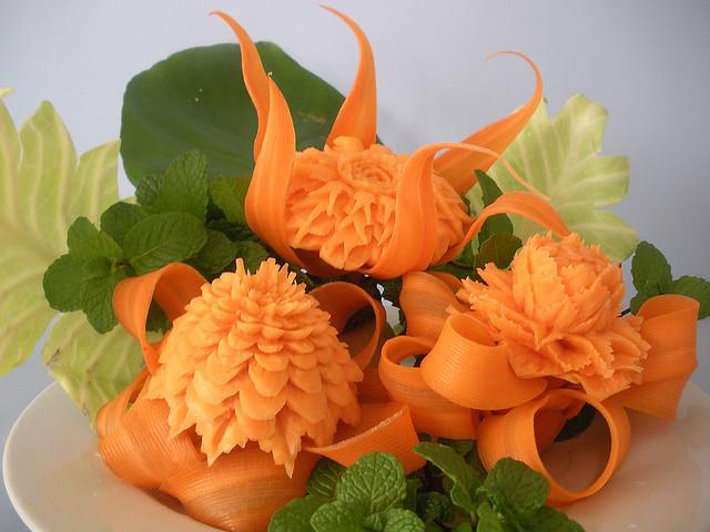 Khóa học cắt tỉa rau củ quả, trang trí món ăn chuyên nghiệp