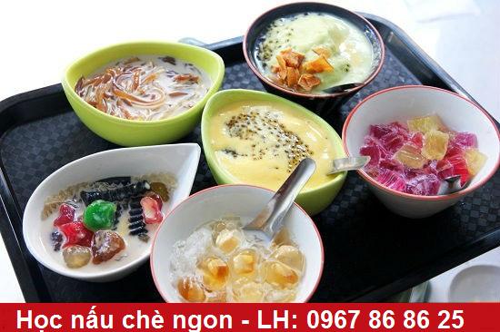 Lớp học nấu chè - Dạy nấu chè bốn mùa ngon Hà Nội